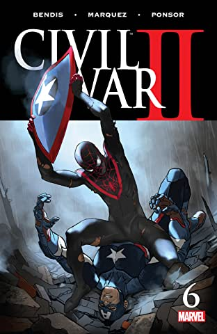 Civil War II (2016) #6 (of 8)