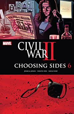 Civil War II: Choosing Sides (2016) No.6 (sur 6)