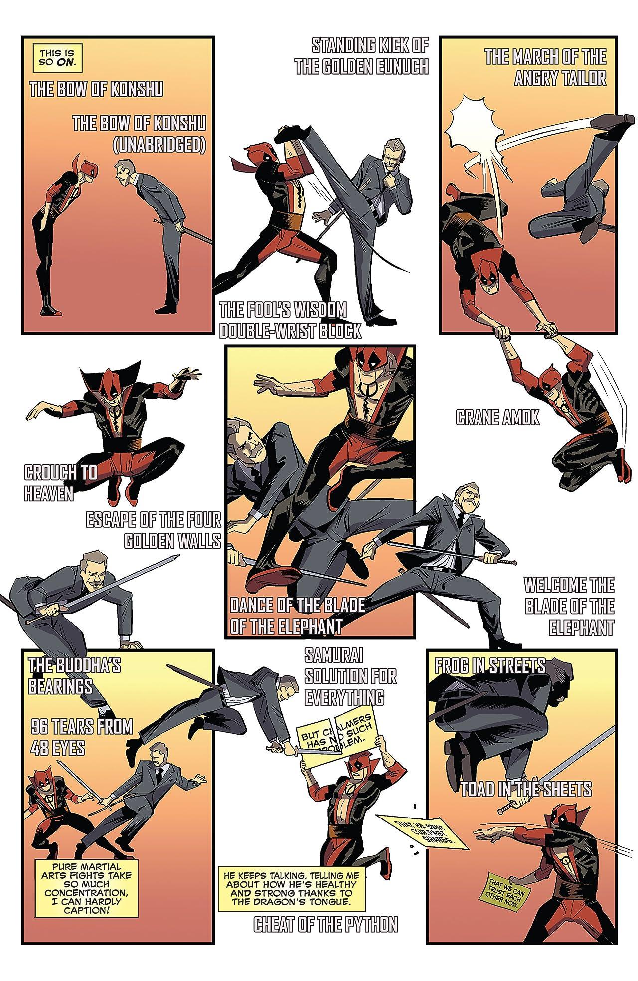 Deadpool v Gambit (2016) #5 (of 5)