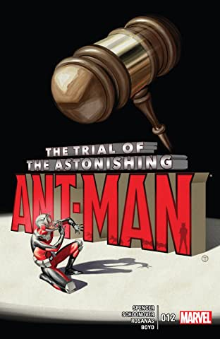 The Astonishing Ant-Man (2015-2016) #12