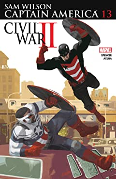 Captain America: Sam Wilson (2015-2017) #13