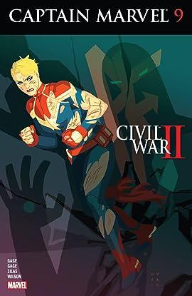 Captain Marvel (2016) #9