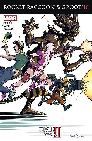 Rocket Raccoon and Groot (2016) #10