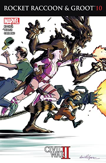 Rocket Raccoon and Groot (2016) #10