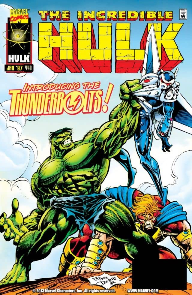 Incredible Hulk (1962-1999) #449