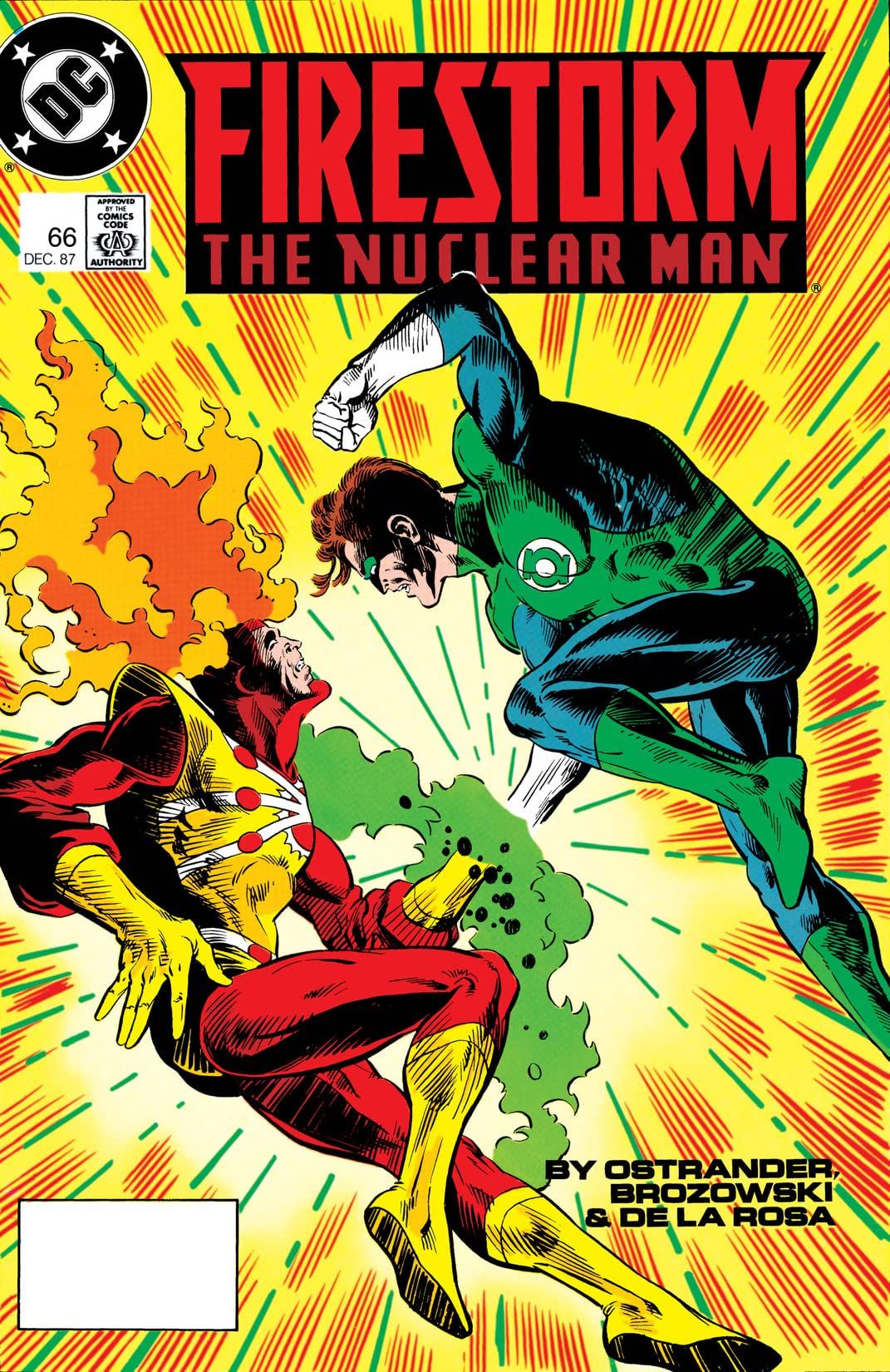 Firestorm: The Nuclear Man (1982-1990) #66