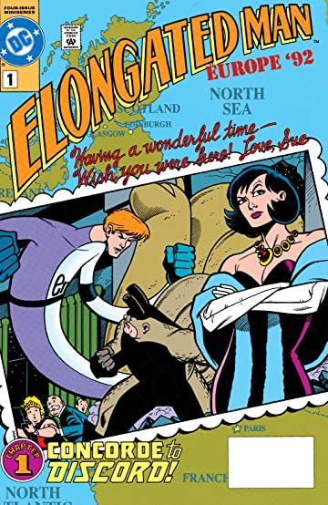 Elongated Man (1991-1992) #1