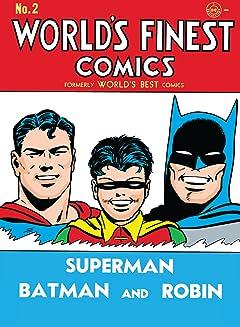 World's Finest Comics (1941-1986) No.2