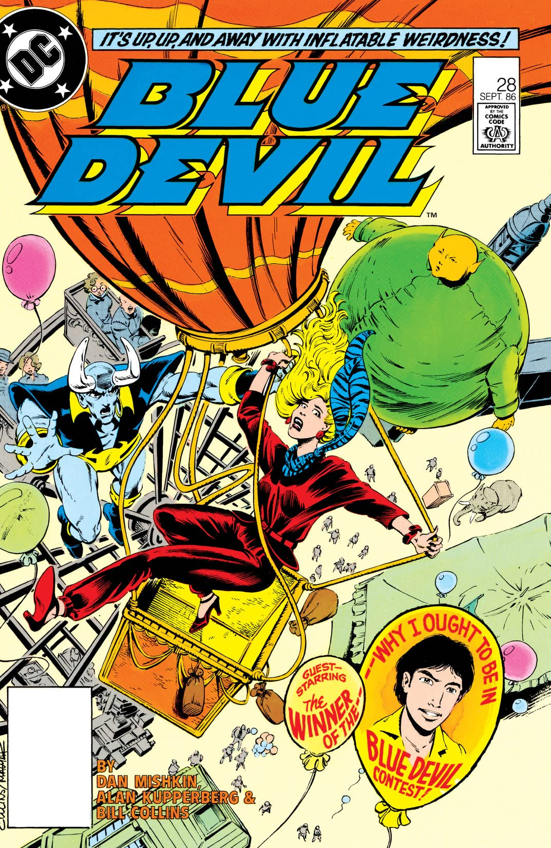 Blue Devil (1984-1986) #28