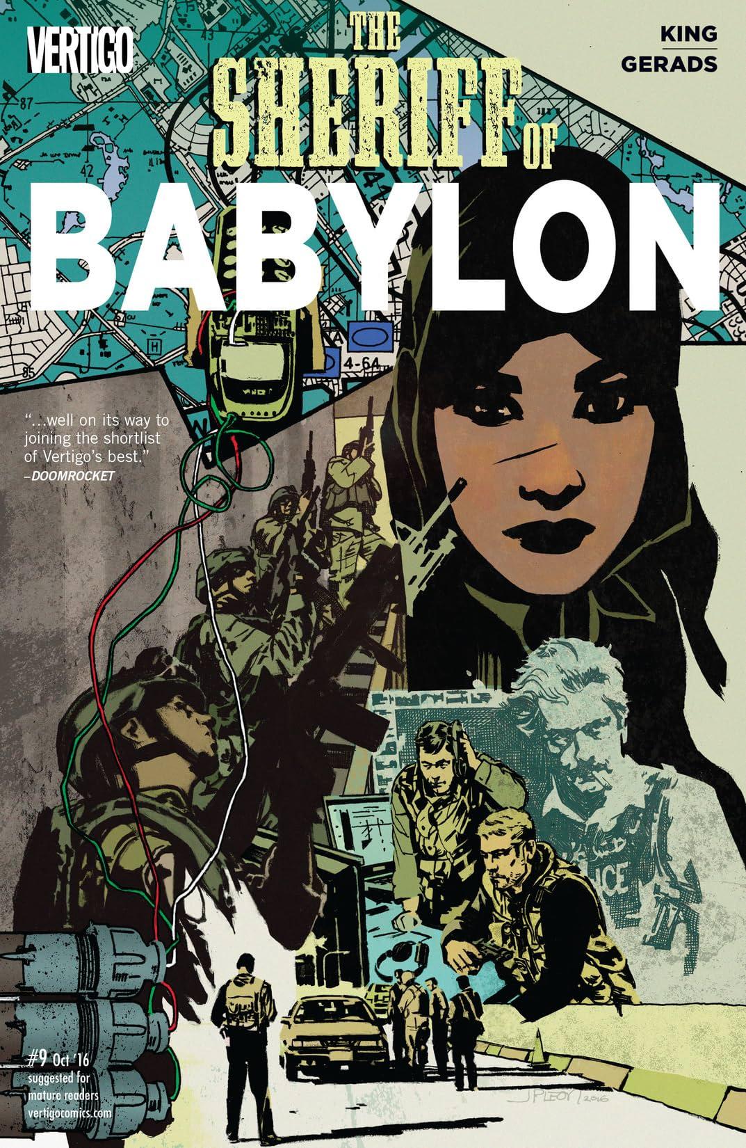 Sheriff of Babylon (2015-2016) #9