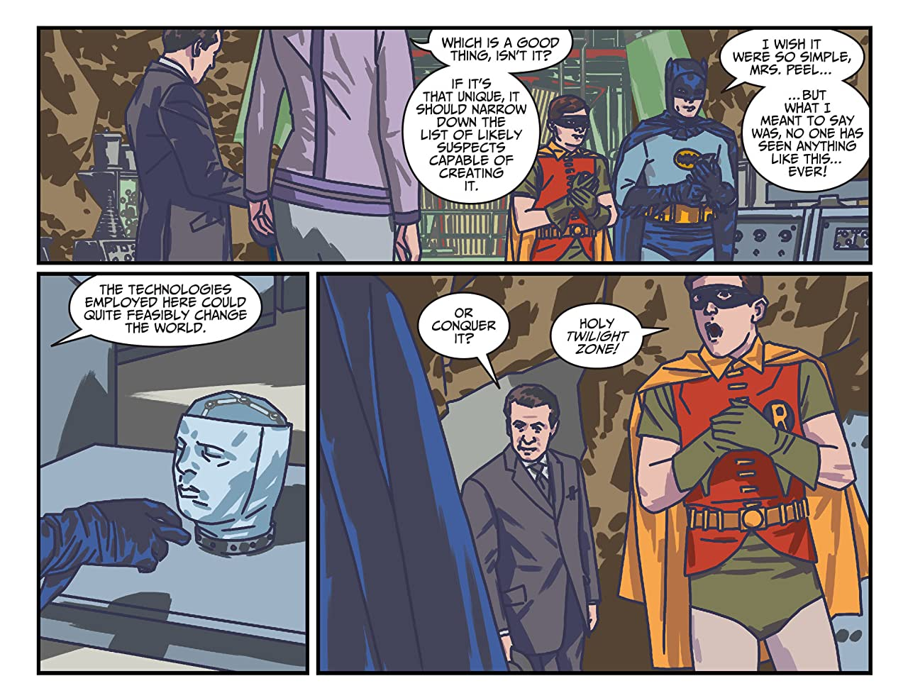 Batman '66 Meets Steed and Mrs Peel (2016) #5