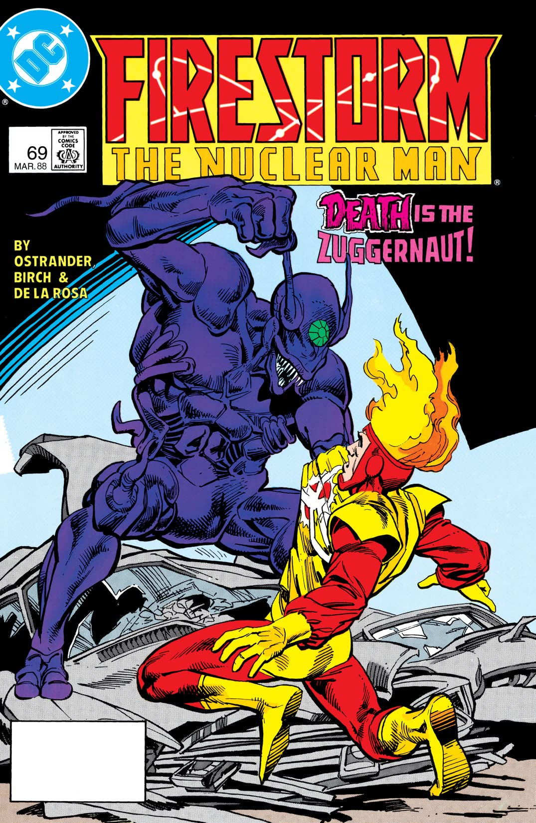 Firestorm: The Nuclear Man (1982-1990) #69