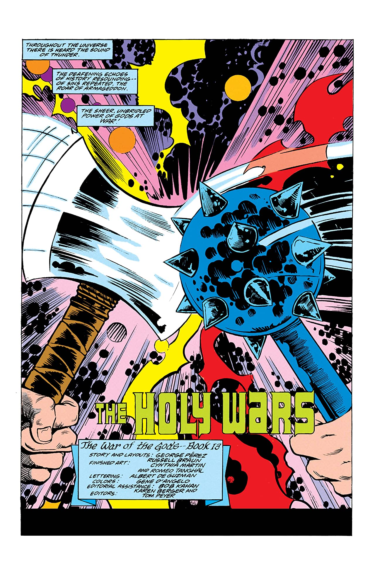 The War of the Gods (1991) #2