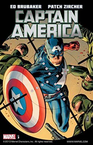 Captain America By Ed Brubaker Tome 3