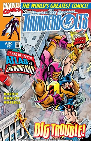 Thunderbolts (1997-2003) No.5