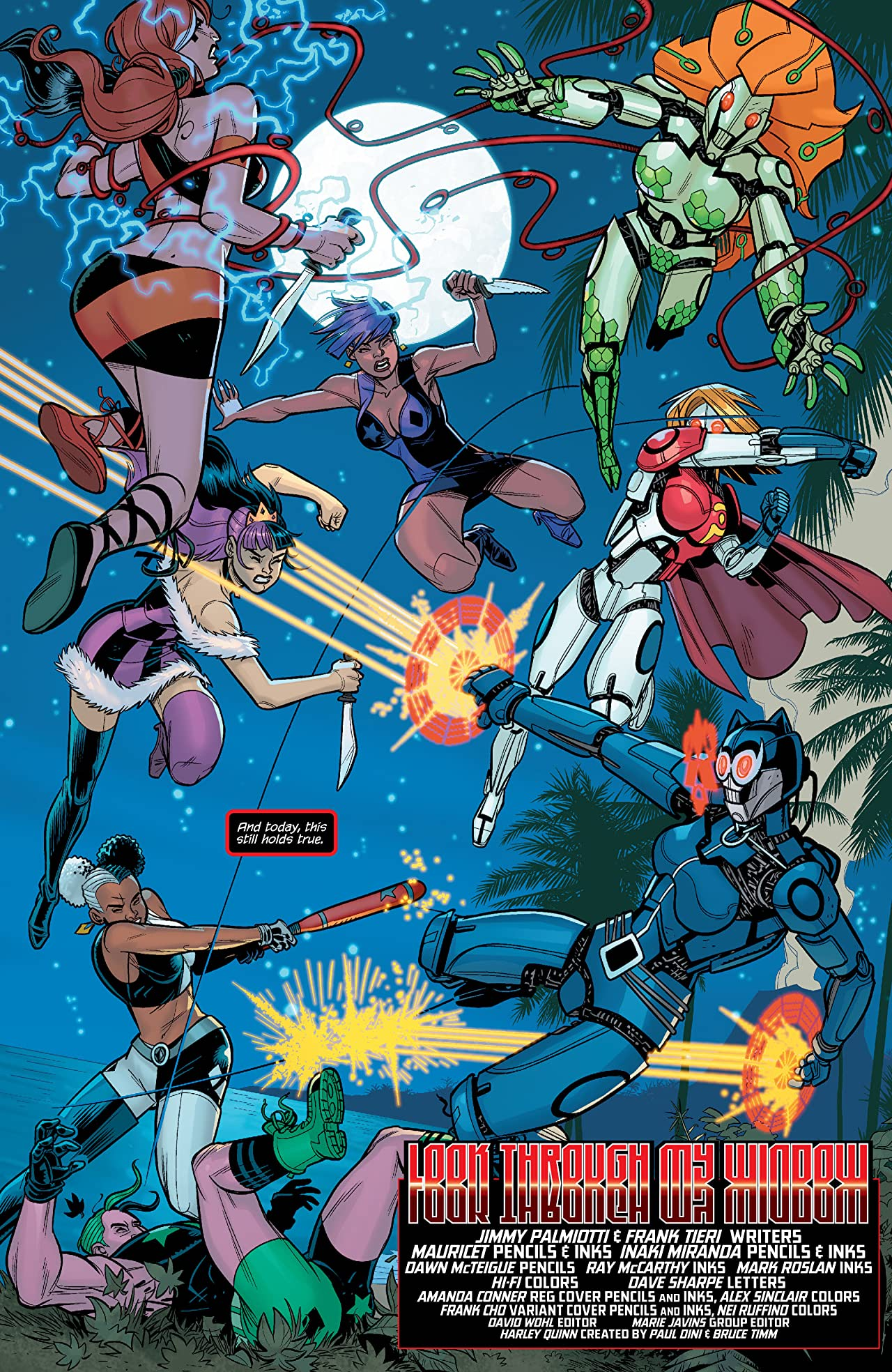 Harley Quinn and Her Gang of Harleys (2016) #5