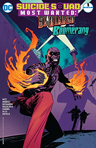 Suicide Squad Most Wanted: El Diablo and Boomerang (2016-2017) #1