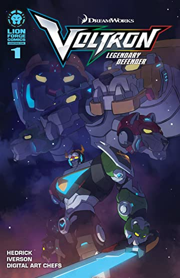 Voltron: Legendary Defender #1 (of 5)