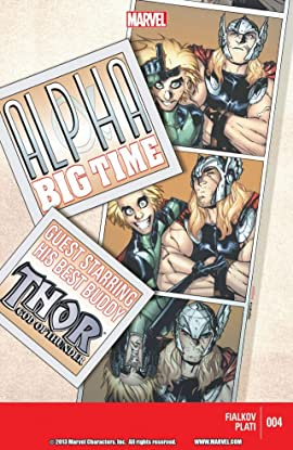 Alpha: Big Time #4 (of 5)