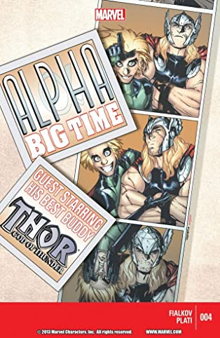 Alpha: Big Time #4 (of 5)