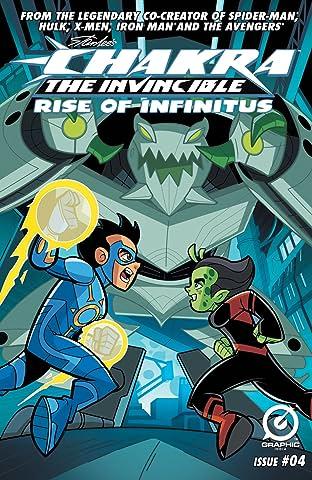 Stan Lee's Chakra The Invincible: Rise of Infinitus #4