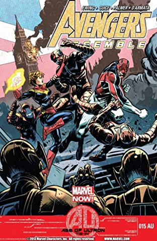 Avengers Assemble No.15AU