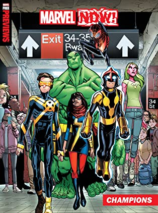 Marvel Now! Previews (2016) #1