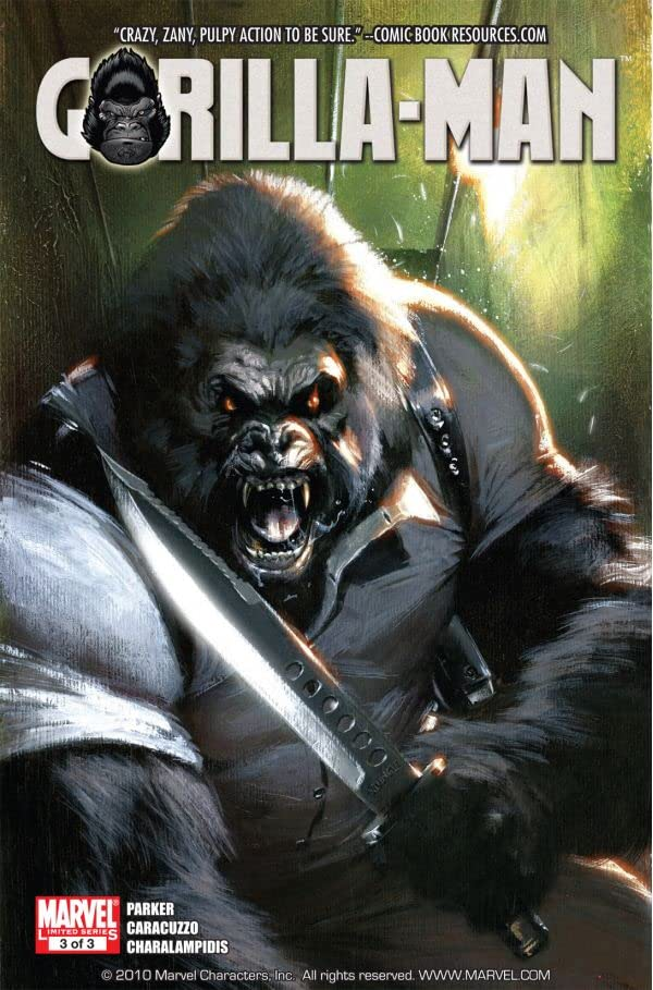 Gorilla Man #3 (of 3)