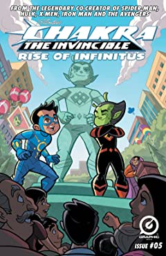 Stan Lee's Chakra The Invincible: Rise of Infinitus #5