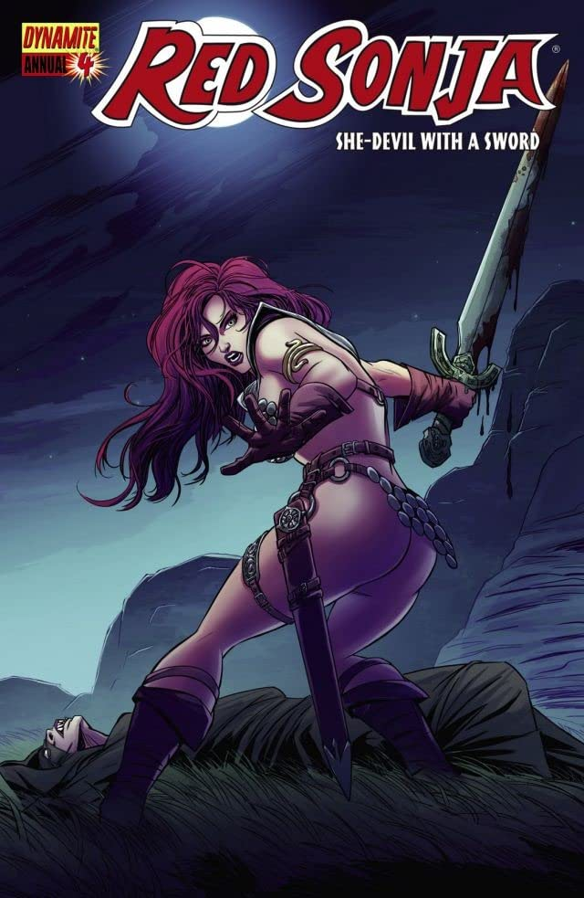 Red Sonja: She-Devil With a Sword - Annual #4