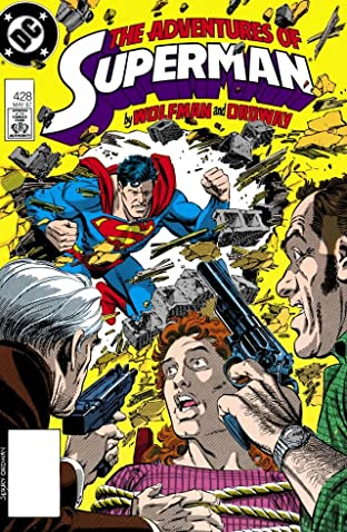 Adventures of Superman (1986-2006) No.428