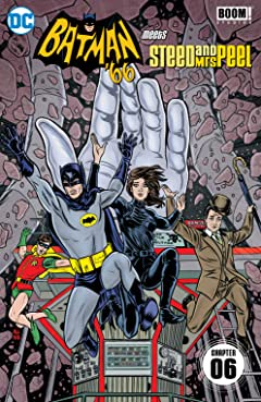 Batman '66 Meets Steed and Mrs Peel (2016) #6