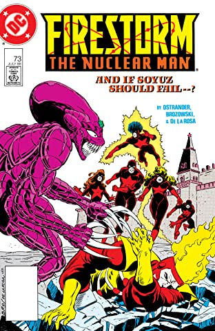 Firestorm: The Nuclear Man (1982-1990) #73