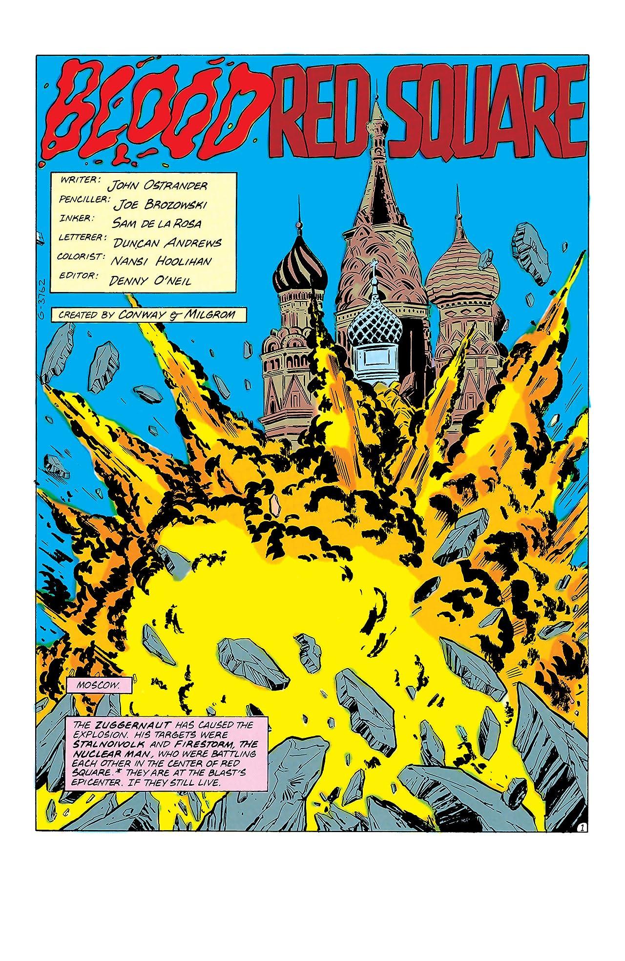 Firestorm: The Nuclear Man (1982-1990) #73