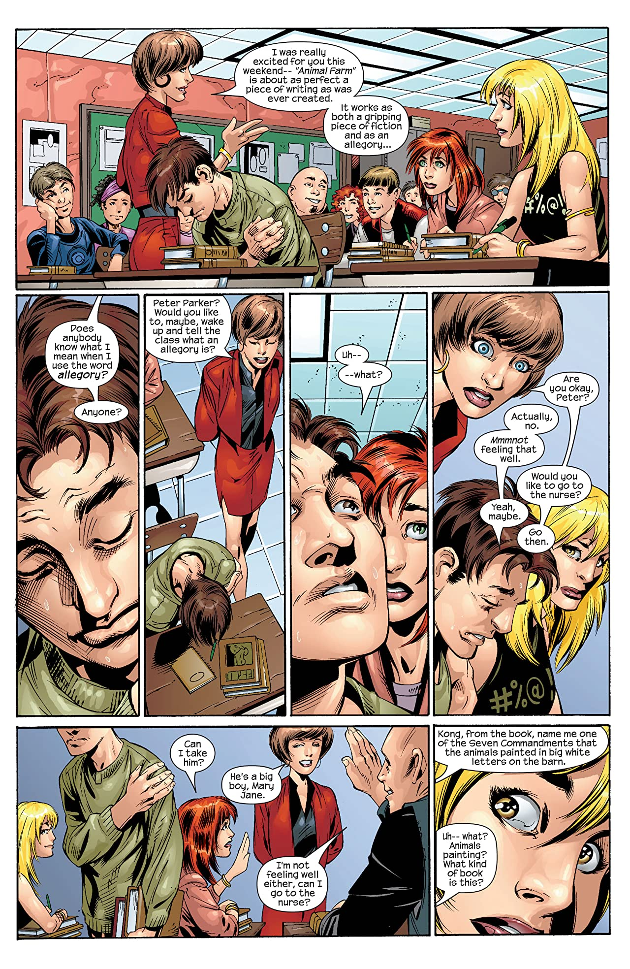 Ultimate Spider-Man (2000-2009) #31