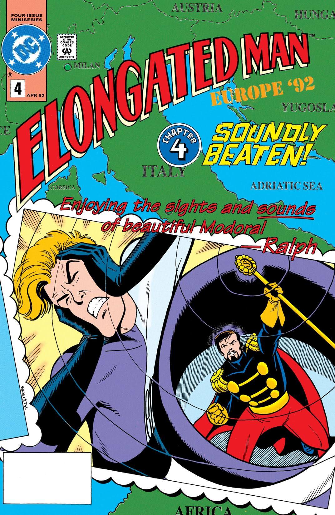 Elongated Man (1991-1992) #4