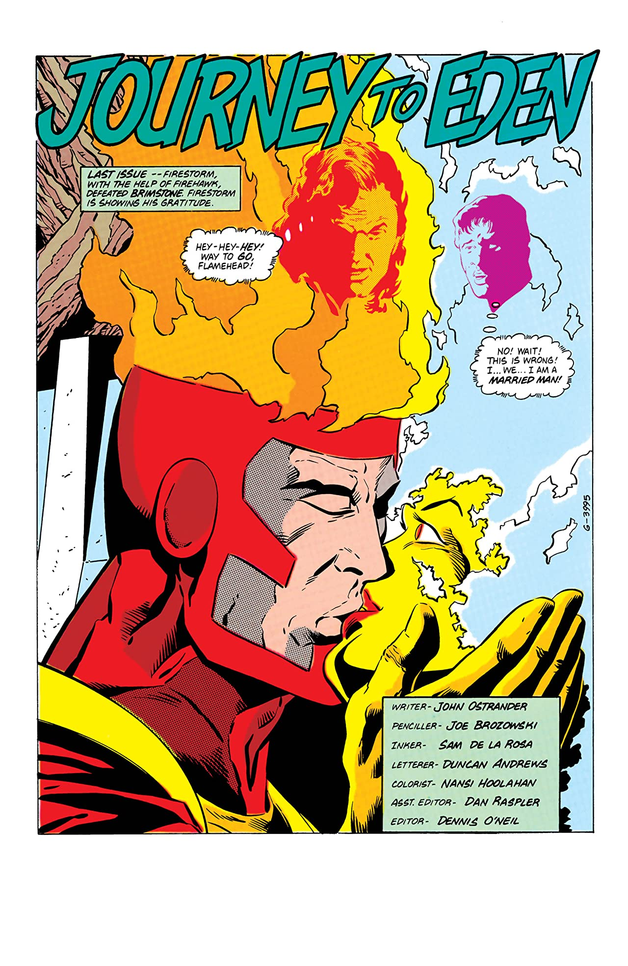 Firestorm: The Nuclear Man (1982-1990) #77
