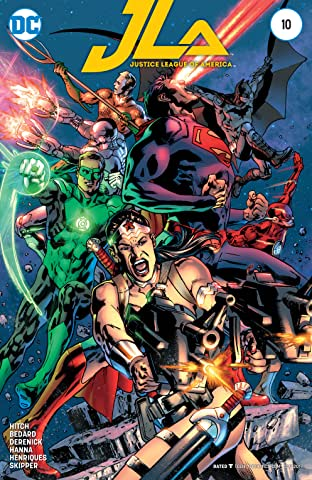 Justice League of America (2015-) #10