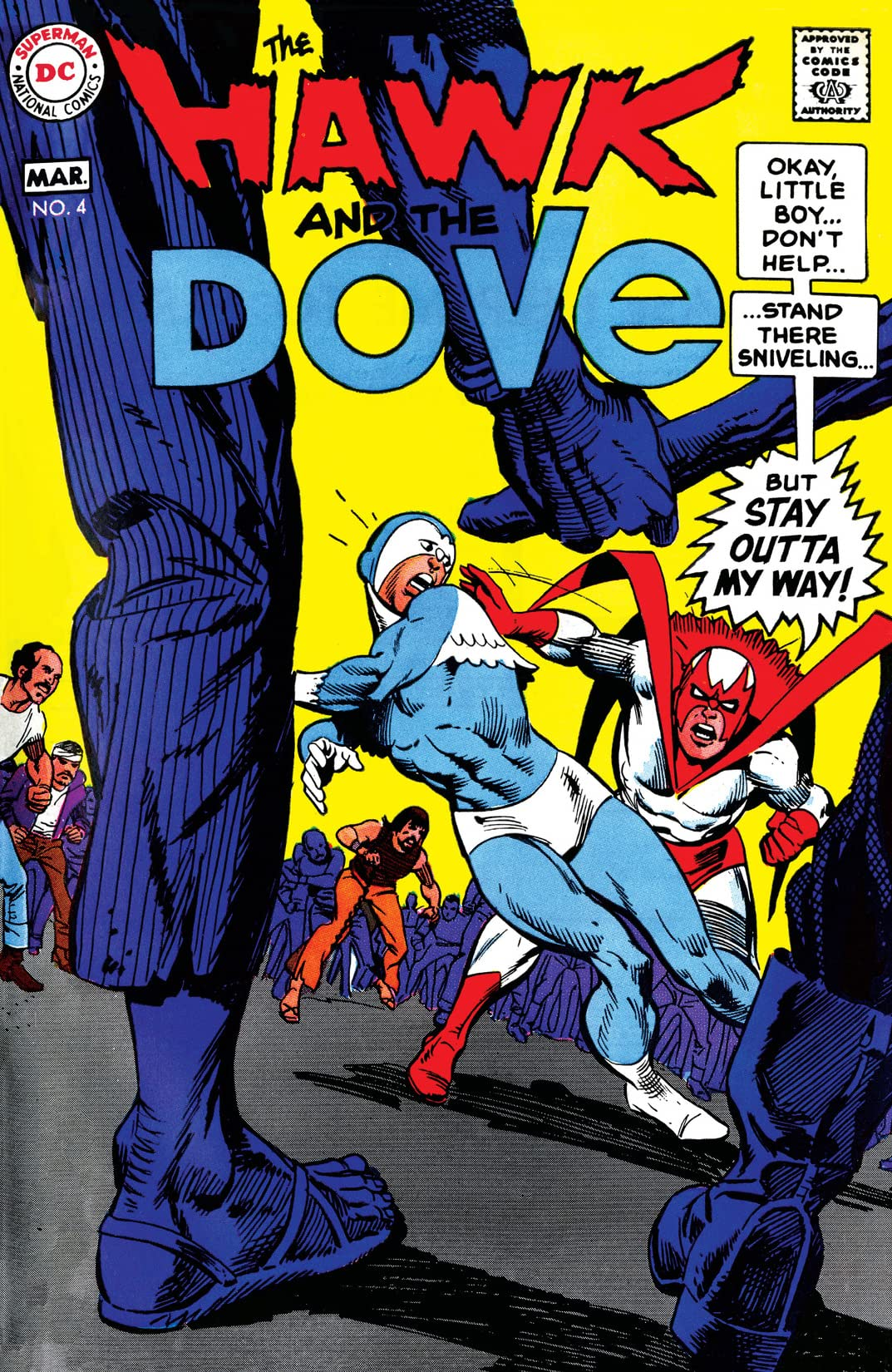 The Hawk and the Dove (1968-1969) #4