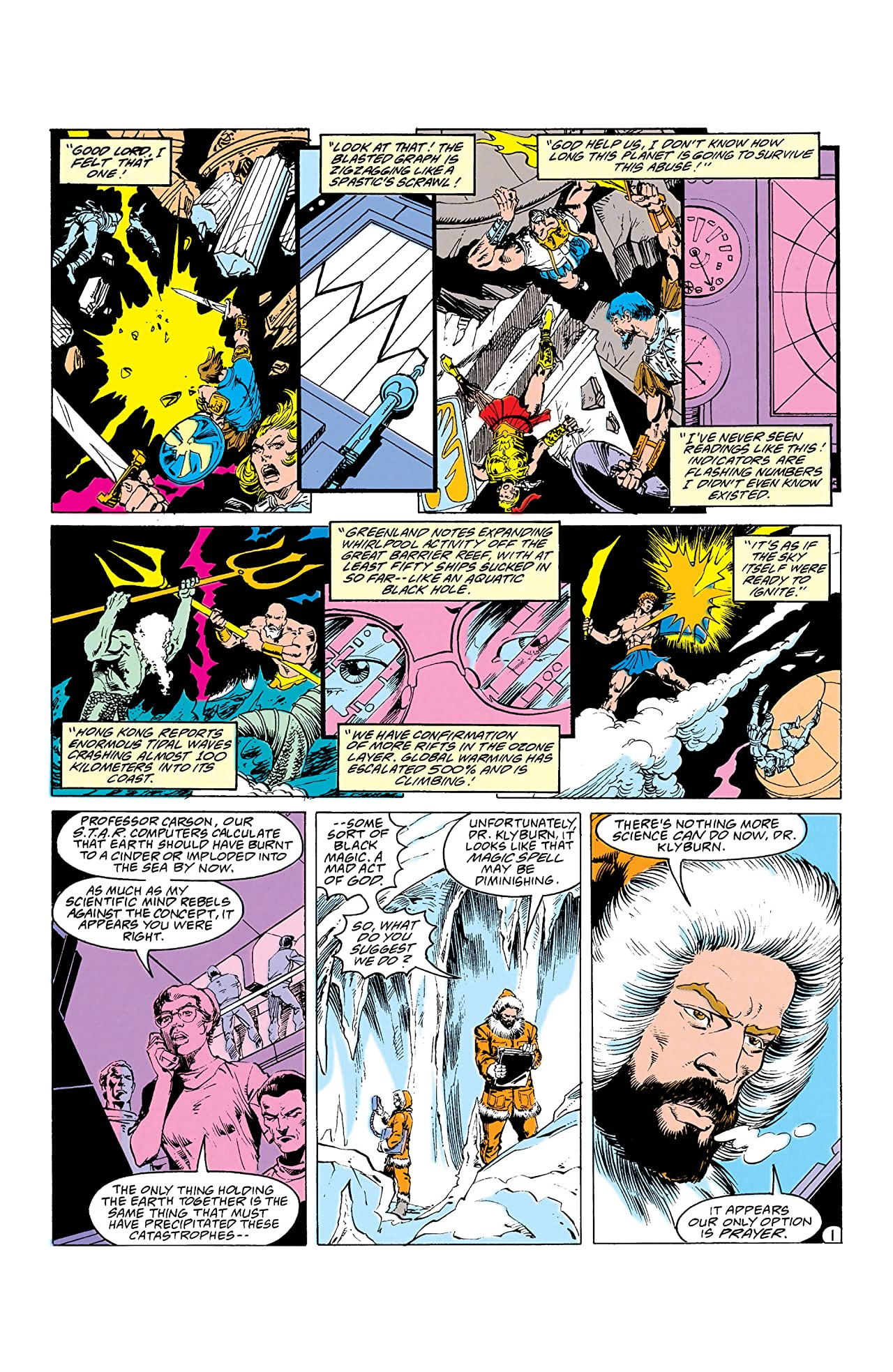 The War of the Gods (1991) #4