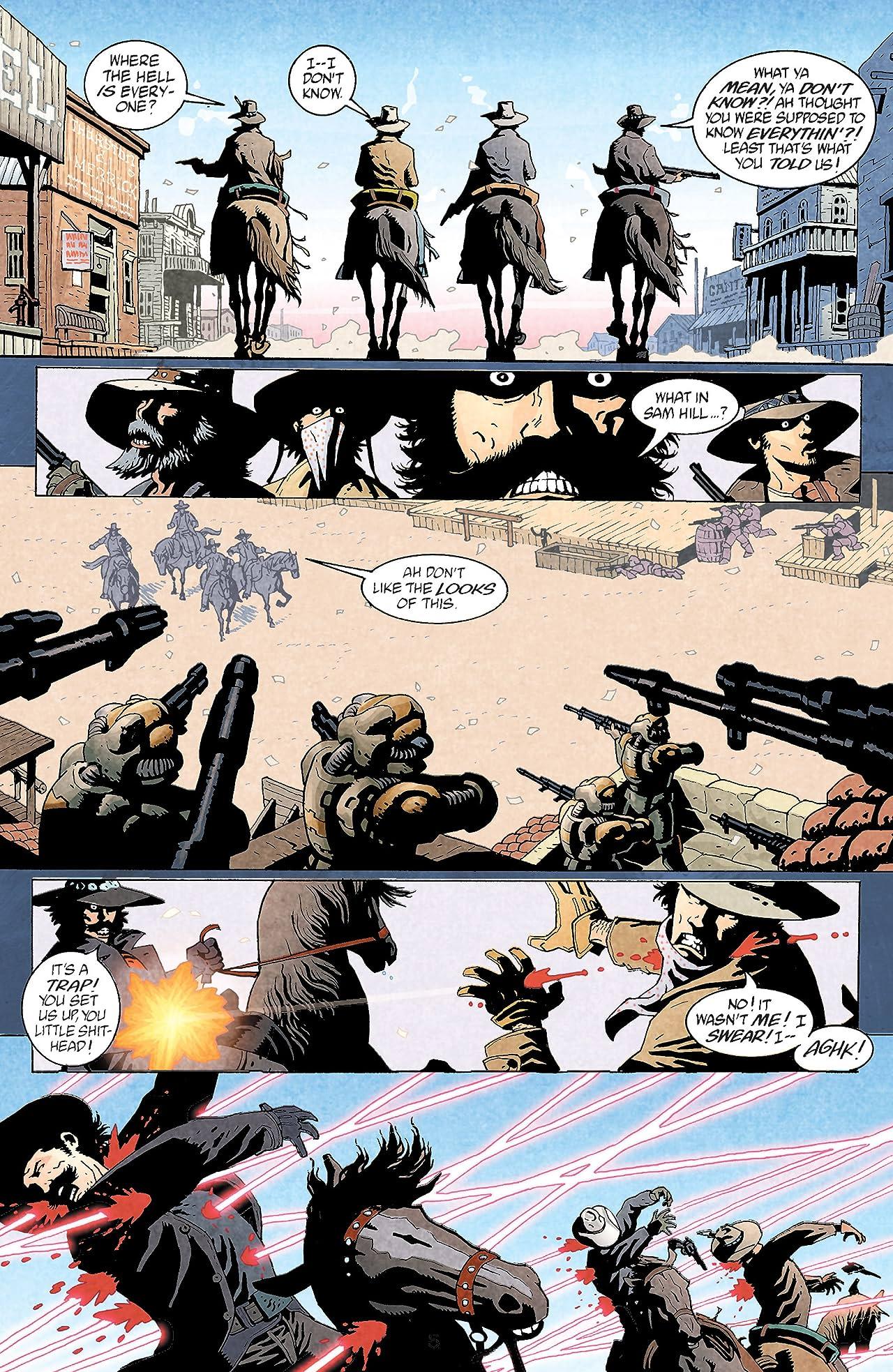 Weird Western Tales (2001) #2