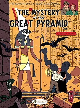 Blake & Mortimer COMIC_VOLUME_ABBREVIATION 2: The Mystery of the Great Pyramid (part 1)