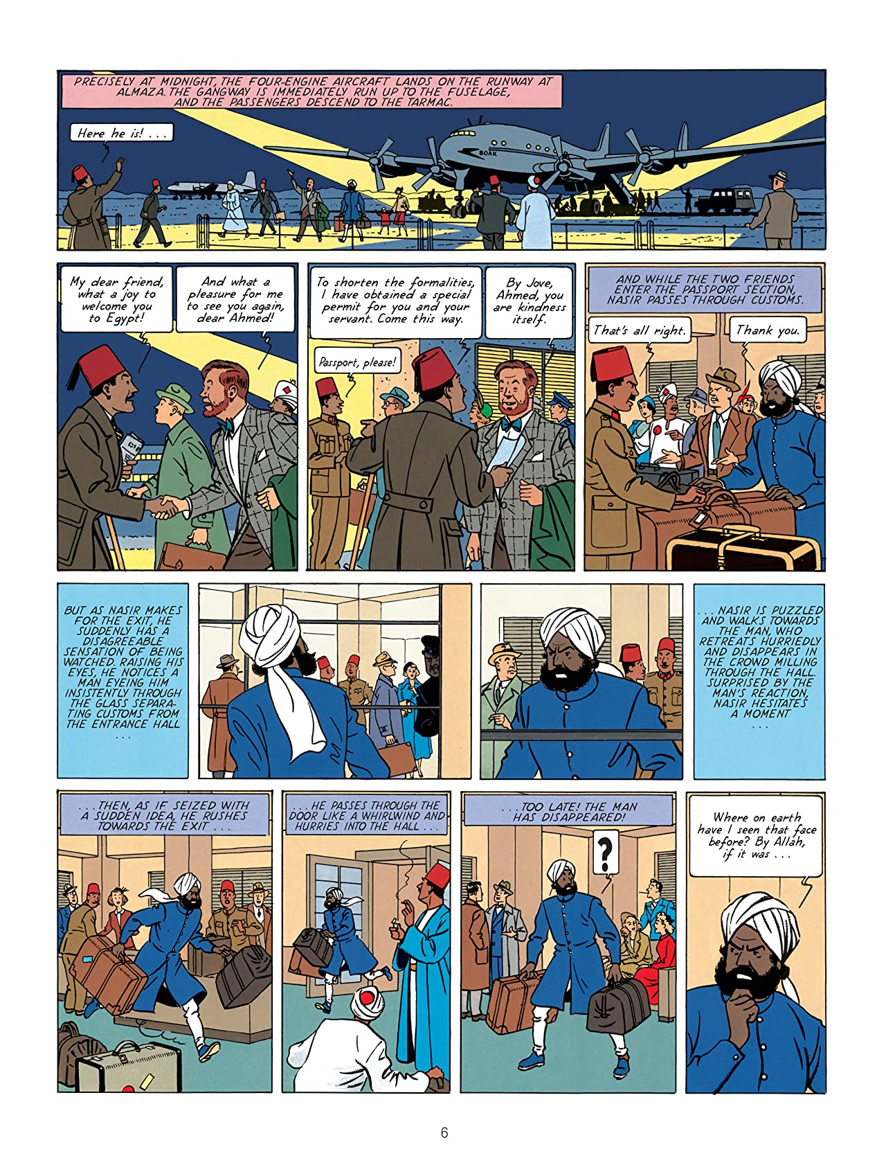 Blake & Mortimer Tome 2: The Mystery of the Great Pyramid (part 1)