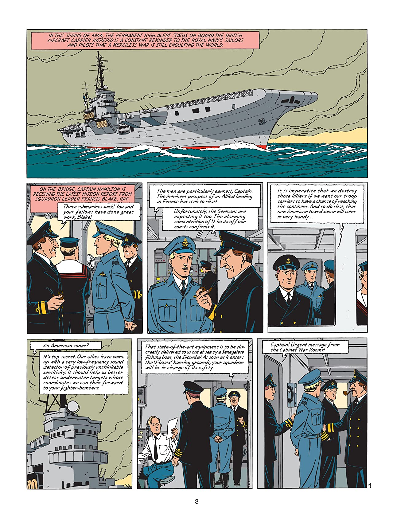 Blake & Mortimer Vol. 21: Plutarch's Staff
