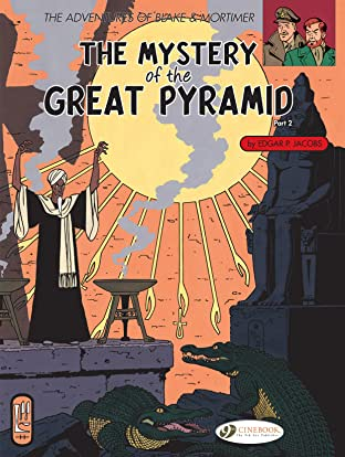 Blake & Mortimer COMIC_VOLUME_ABBREVIATION 3: The Mystery of the Great Pyramid (part 2)