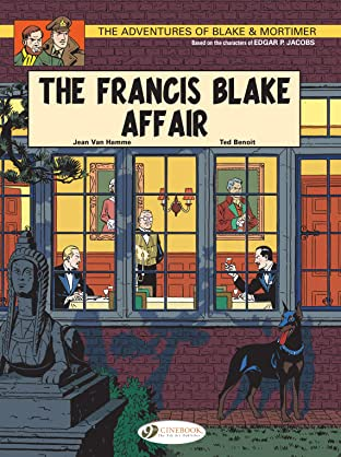Blake & Mortimer COMIC_VOLUME_ABBREVIATION 4: The Francis Blake Affair