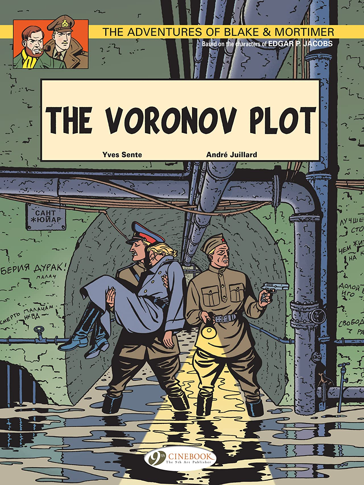 Blake & Mortimer Vol. 8: The Voronov Plot