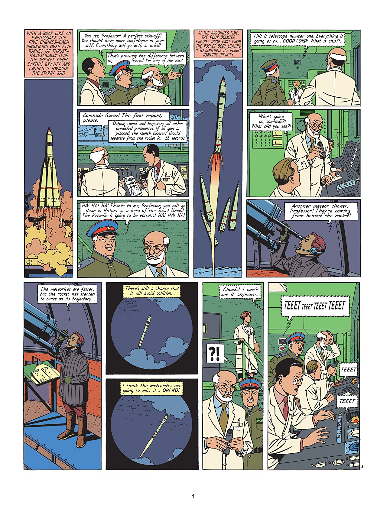 Blake & Mortimer Vol. 8: The Voronov Plot
