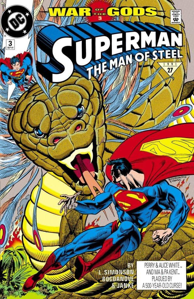 Superman: The Man of Steel (1991-2003) #3