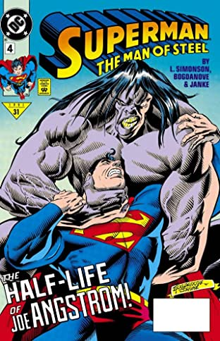 Superman: The Man of Steel (1991-2003) #4